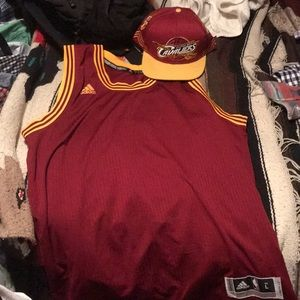 Throwback Kyrie Irving jersey hat